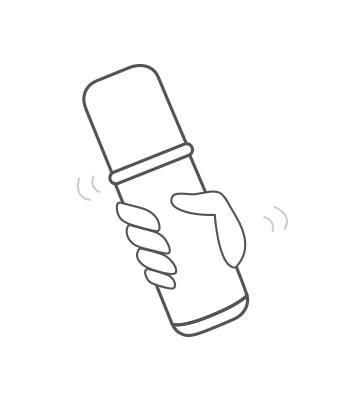 柔光調色粉底液擁有霧光粉體與親膚油的雙層設計,能使妝容更加薄透、服貼。 平時使用前請先搖晃約3-5下均勻混合粉底液,若長時間靜置則建議先搖15-20下再使用。